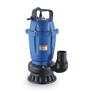 Single Phase Submersible Dirty Water Pump Customized Color Aluminum Low Pressure